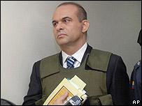 Salvatore Mancuso, jefe paramilitar colombiano, que será extraditado a Estados Unidos