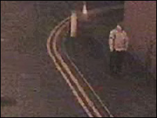 CCTV image of the man
