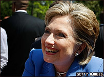 Hillary Clinton en campa�a