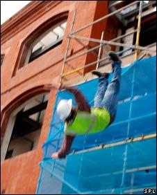 Building site accident