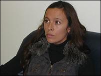 """María de Luján Telpuk, """"chica de la valija"""""""