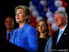 The Clintons, post-Indiana