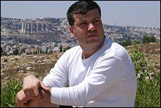 Sayed Kashua in Beit Safafa