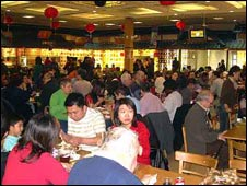 Oriental City's food court