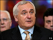 Bertie Ahern has stepped down from the post