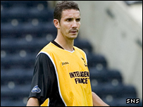 Former Livingston defender Manu Dorado