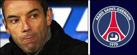 PSG manager Paul Le Guen