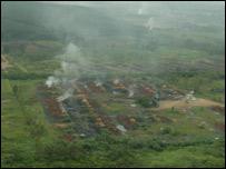 quema de bosques