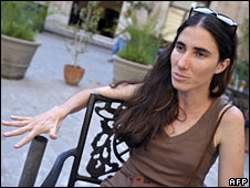 Yoani Sanchez in Havana (6 May 08)