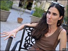 Yoani Sanchez in Havana (6 May 08)