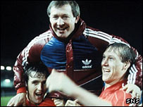 Peter Weir, Alex Ferguson and Doug Rougvie