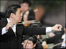 Music director of China Philharmonic Orchestra Long Yu