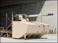 Элемент сборного танка MCS (фото с сайта www.fcs.army.mil)