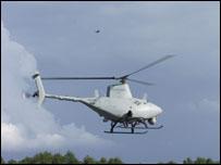Беспилотный разведывательный вертолет IV UAV (фото с сайта www.fcs.army.mil)