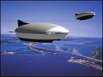 Транспортный дирижабль Walrus (фото с сайта www.gizmag.com)