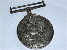 The World War I medal
