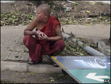 Monk in Rangoon