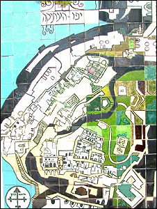 Tile map of Jaffa
