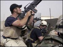 Сотрудники компании Blackwater в Ираке