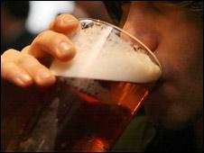 Beer drinker (generic)