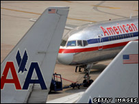 American Airlines plans on the tarmac (Photo: Joe Raedle)