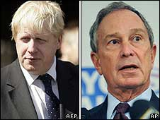 Boris Johnson/Michael Bloomberg