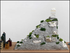 Rachel Whiteread's recycled mountain