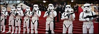 Storm Troopers on the red carpet in Cannes