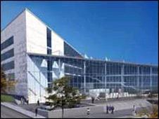 Artist's impression of the new £45m academy in Darwen