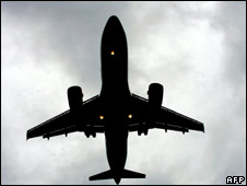 Aeroplane takes off. File photo