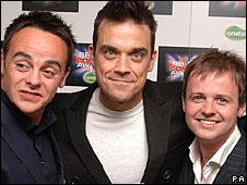 Ant, Robbie and Dec
