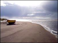 Costa del Oceano Pacífico cerca de Monte Verde (FOTO: Mario Pino)