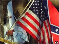 Miembro del Ku Klux Klan (KKK)
