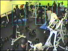 Still of the attack at Moss Side Leisure Centre
