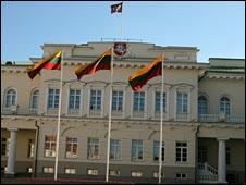 Lithuanian parliament in Vilnius