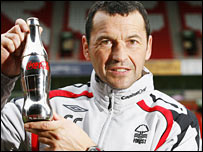 Nottingham Forest boss Colin Calderwood