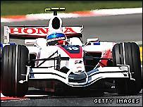 A Super Aguri F1 car