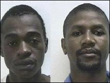 Jabu Mbowane and Gabriel Benghu