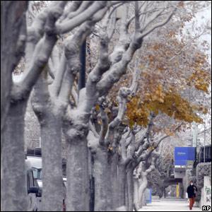 Ciudad de Esquel, en Argentina
