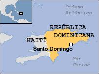 Mapa Rep�blica Dominicana