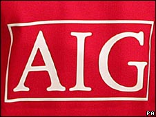 The AIG logo on a Manchester United shirt