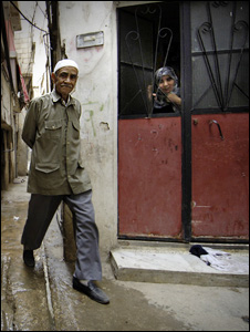 Muhammad Diab in Shatila (Photo by Phil Coomes)