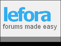 Lefora website
