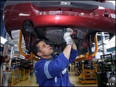 Renault car factory