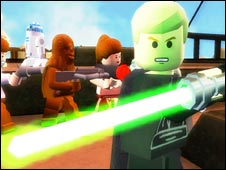 Screenshot from Lego Star Wars, Activision