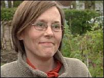 Denise Kennedy, allotment holder