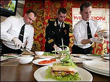 Russian sandwich