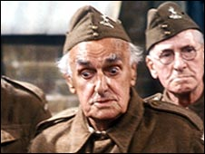 John Laurie as Dad's Army's Private Fraser