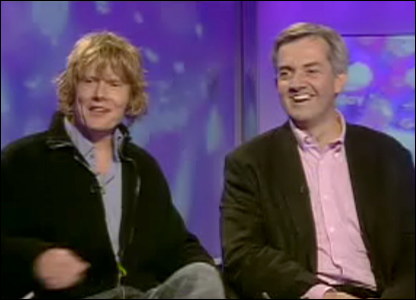 julian rhind-tutt and chris huhne