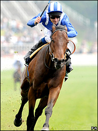 Tajaweed on his way to victory at Chester